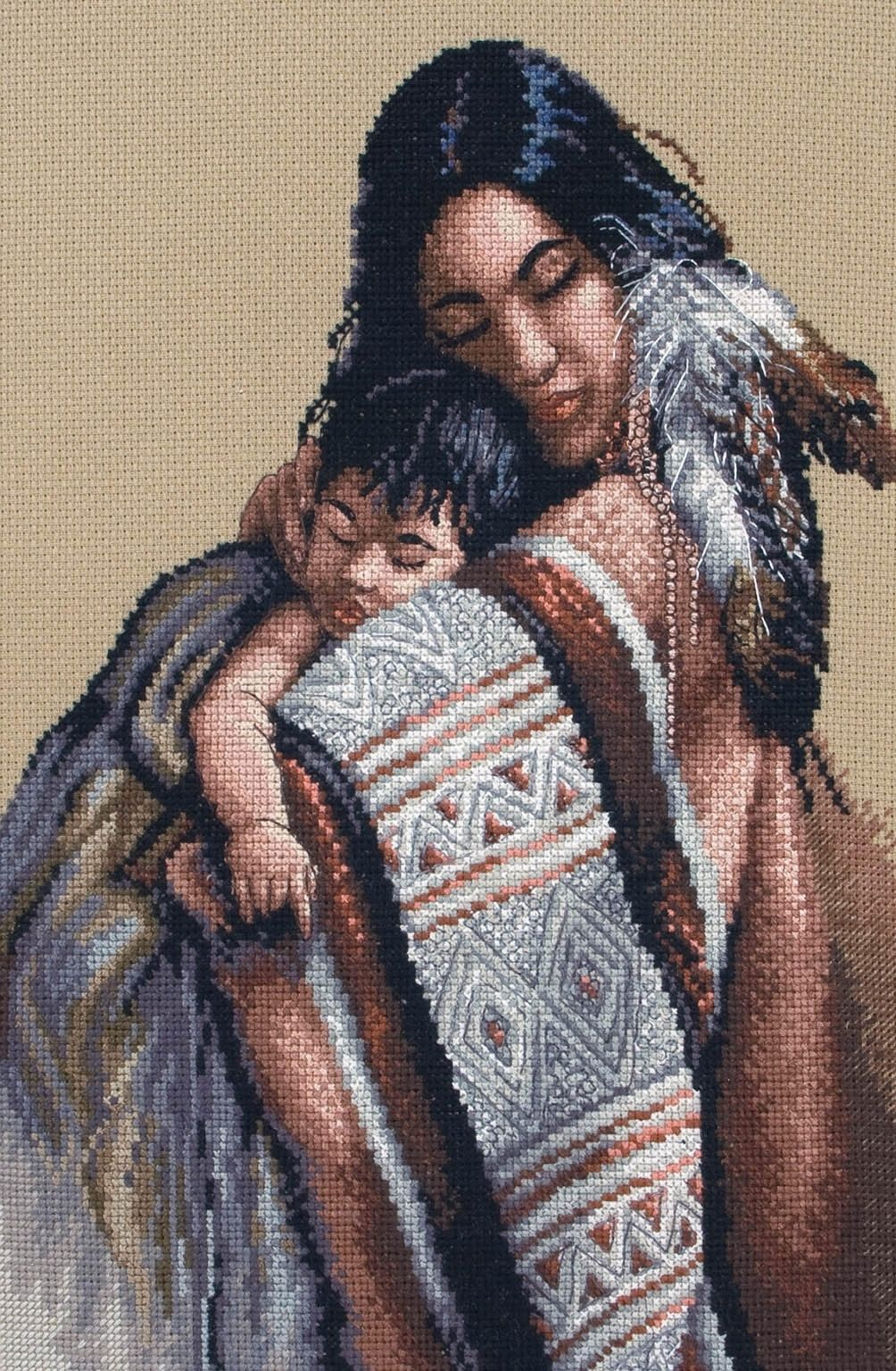 A Mother's Love - Cross Stitch Kit by Maia