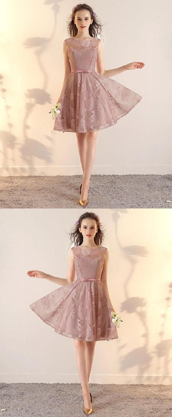 Vogue lace prom dresses prom dresses short prom dresses pink in