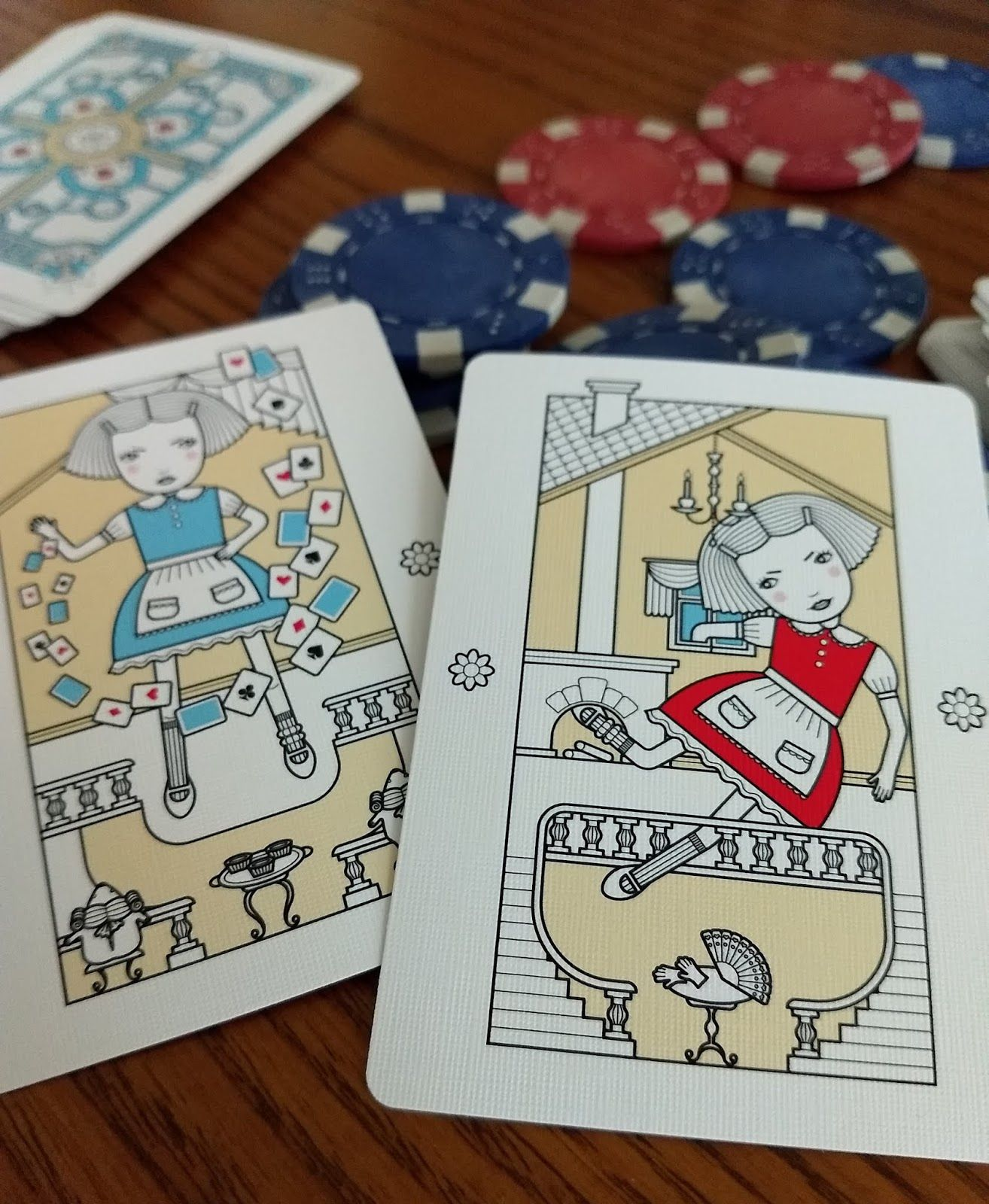 Alice In Wonderland Playing Cards From Playingcarddecks