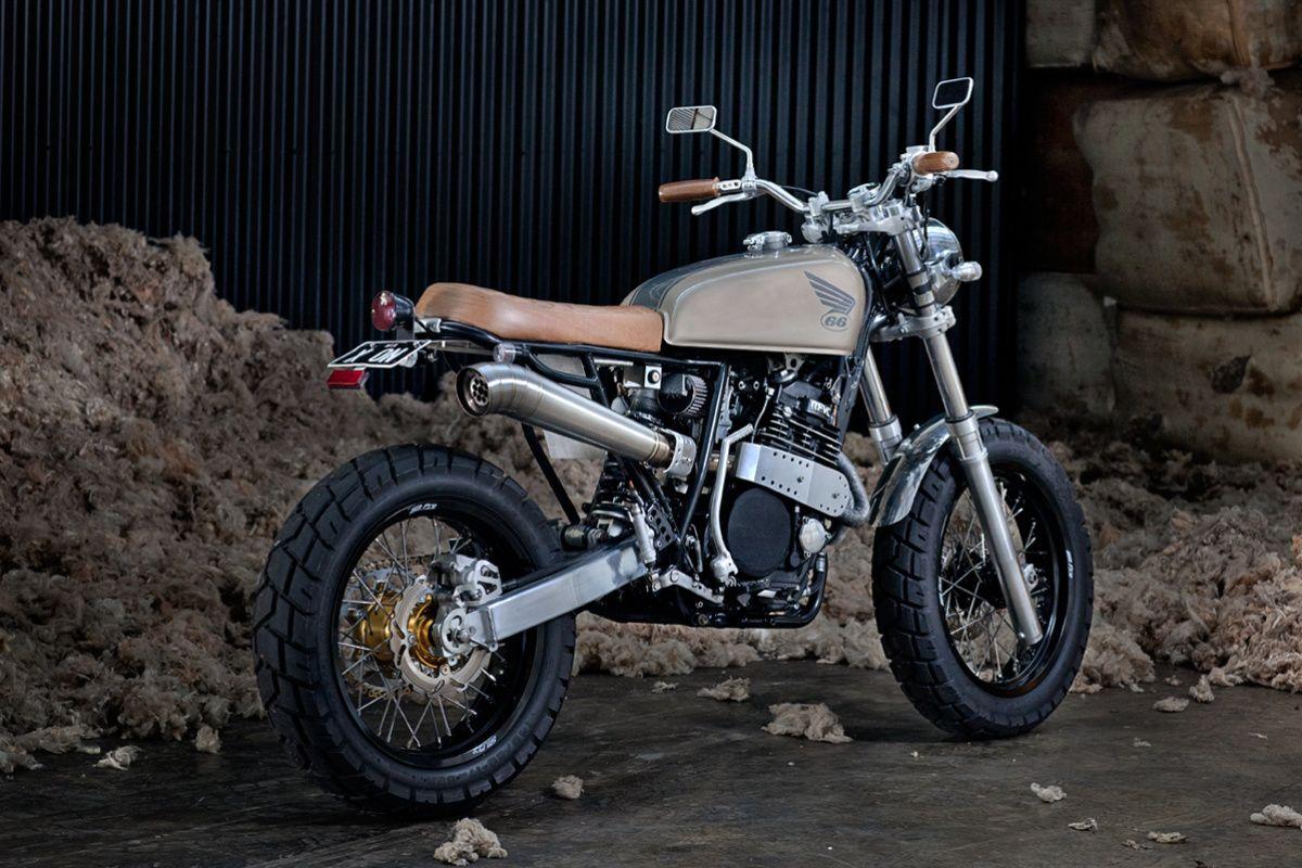 Honda Xr 600 Street Tracker By 66 Motorcycles Japstyle Bratstyle Dirt Bikes Gas Tank