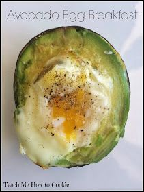 Avocado Egg Breakfast