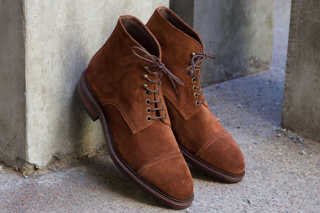 Carmina Polo Suede Boot