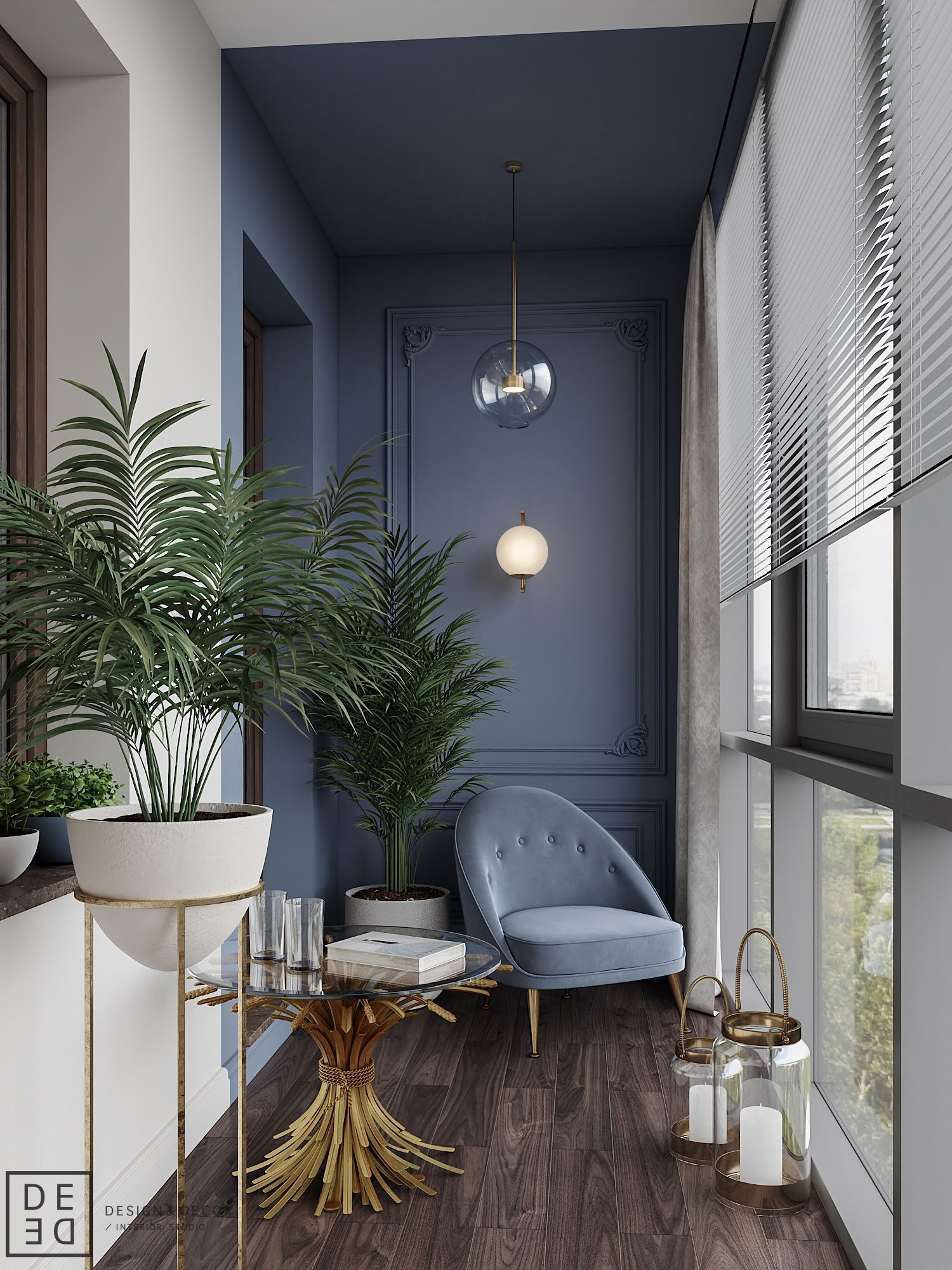 De De Blueberry Flat Apartmentbalconydecorating De De Blueberry Flat On Behance In 2020 Wohnung Mit Balkon Einrichten Design Fur Zuhause Kleines Balkon Dekor