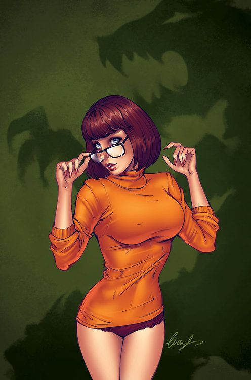 art Daphne up velma pin