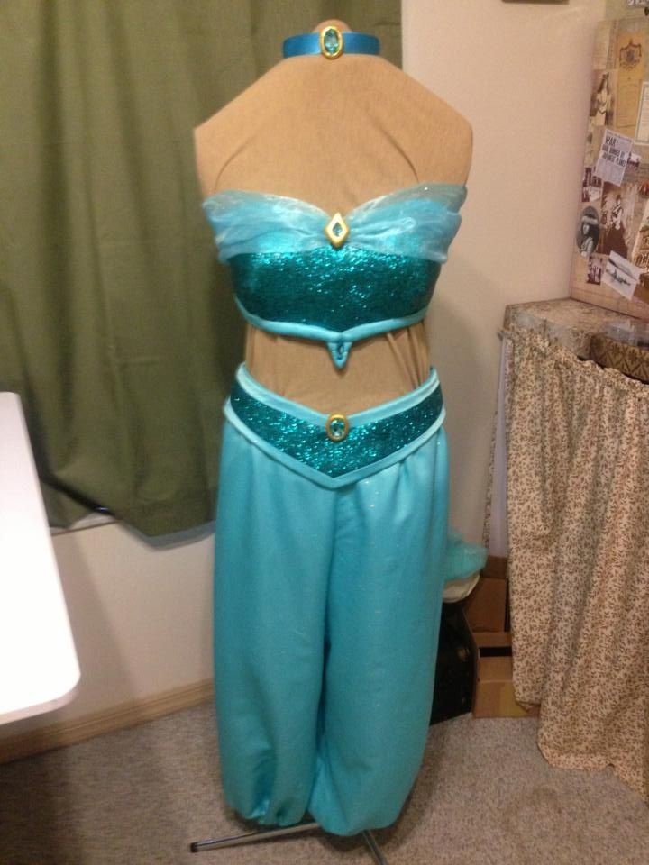 Princess Jasmine Costume & Princess Jasmine Costume | Disney | Pinterest | Princess jasmine ...
