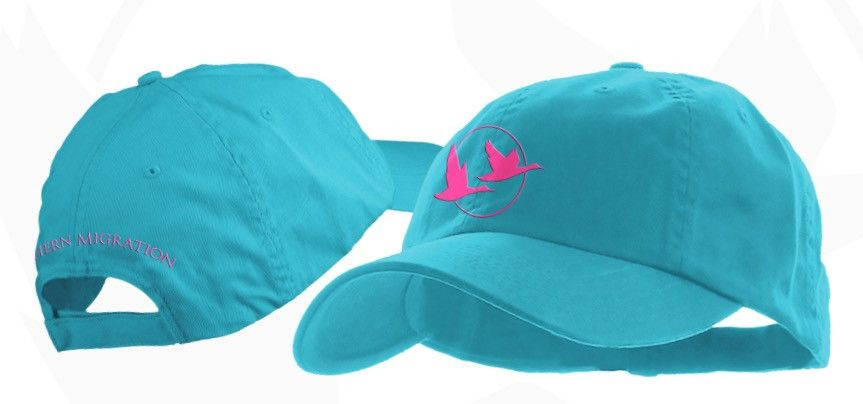 Southern Migration Polo Hat - Turquoise