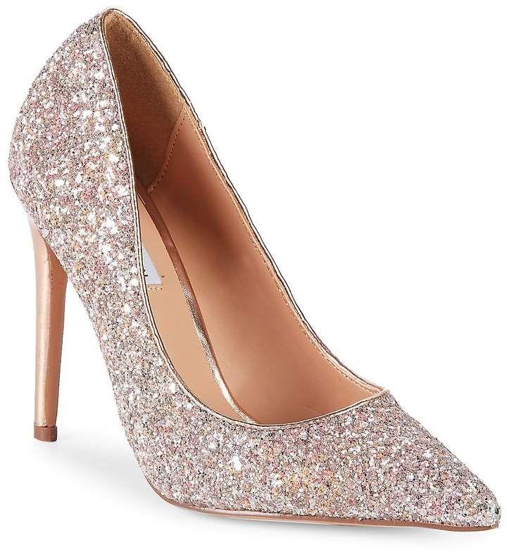 Glitter pumps, Steve madden shoes