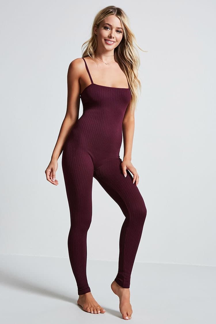 8ce5078a76f9 Seamless Ribbed Jumpsuit