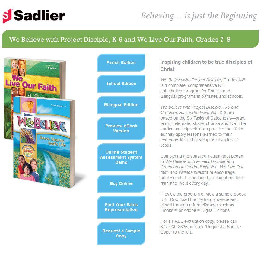 we believe online religion book
