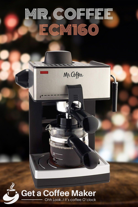Mr. Coffee ECM160 Espresso Machine Review Coffee maker