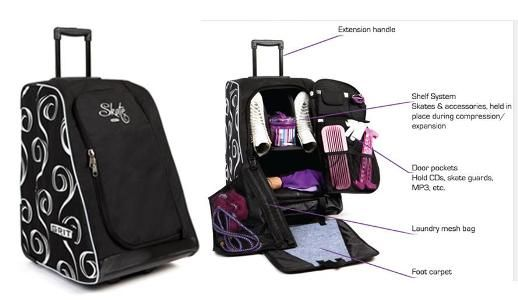 Grit 22 Skate Tower Black Figure Bag 139 99 Can At Www Skatingboutique Shipping