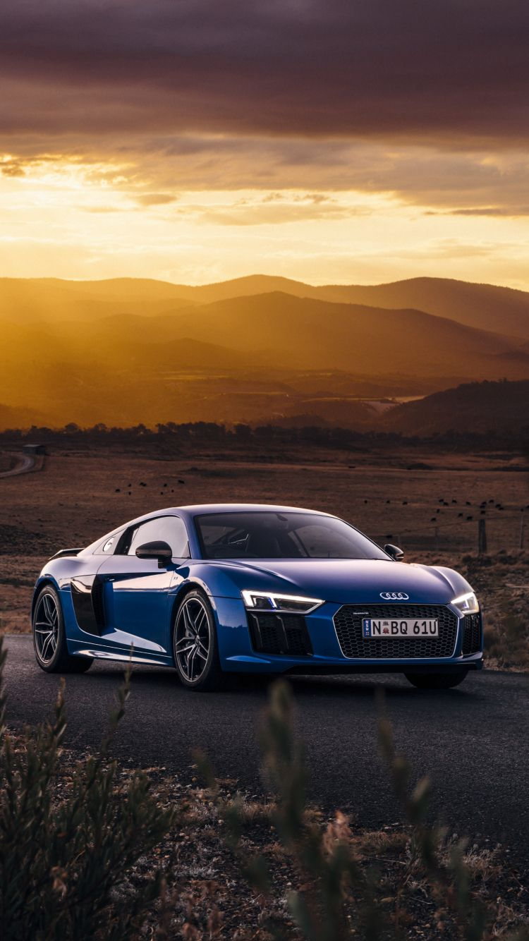 2017 Audi R8 V10 PLUS IPhone Wallpaper