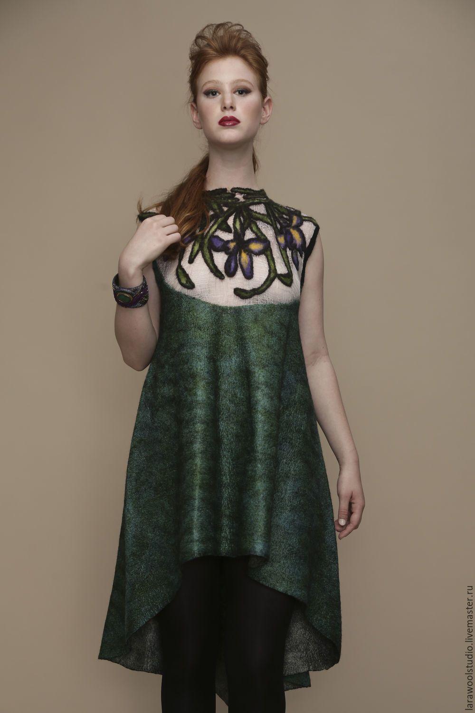 3686b6278cd Купить или заказать Платье туника без рукавов