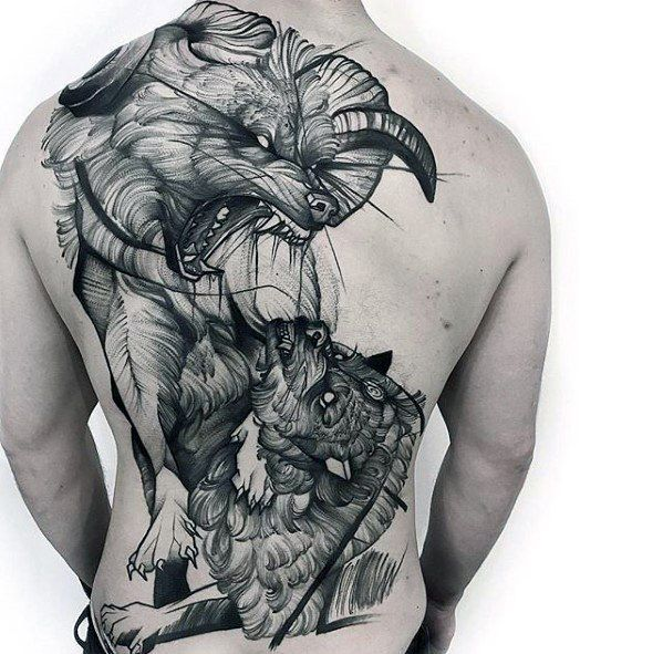Tattoo Woman Preacher: 60 Sketch Tattoos For Men - Artistic Design Ideas