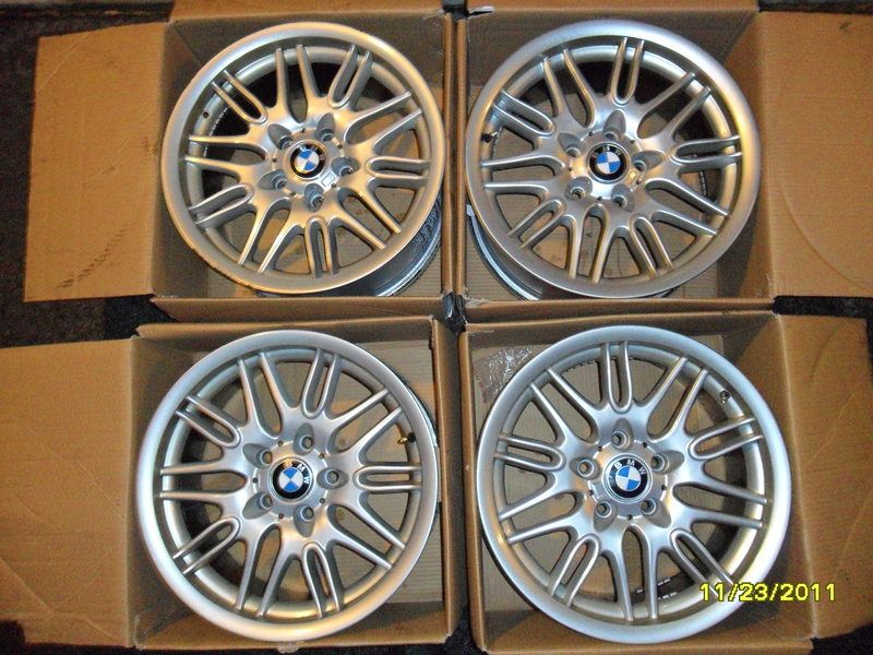 Set Of 4 19 M3 M4competition Style Alloy Wheels Grey