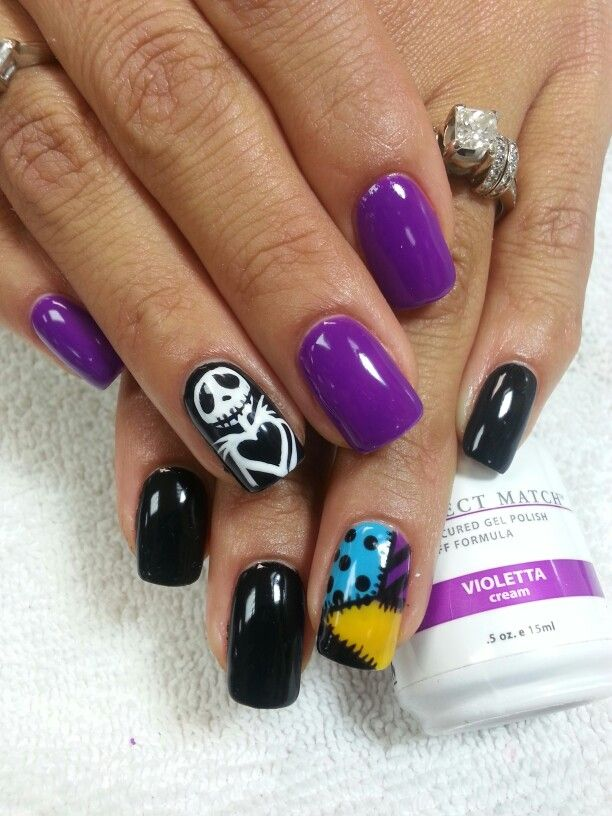 LeChat, night before Christmas nail art | Nails | Pinterest | Gel color