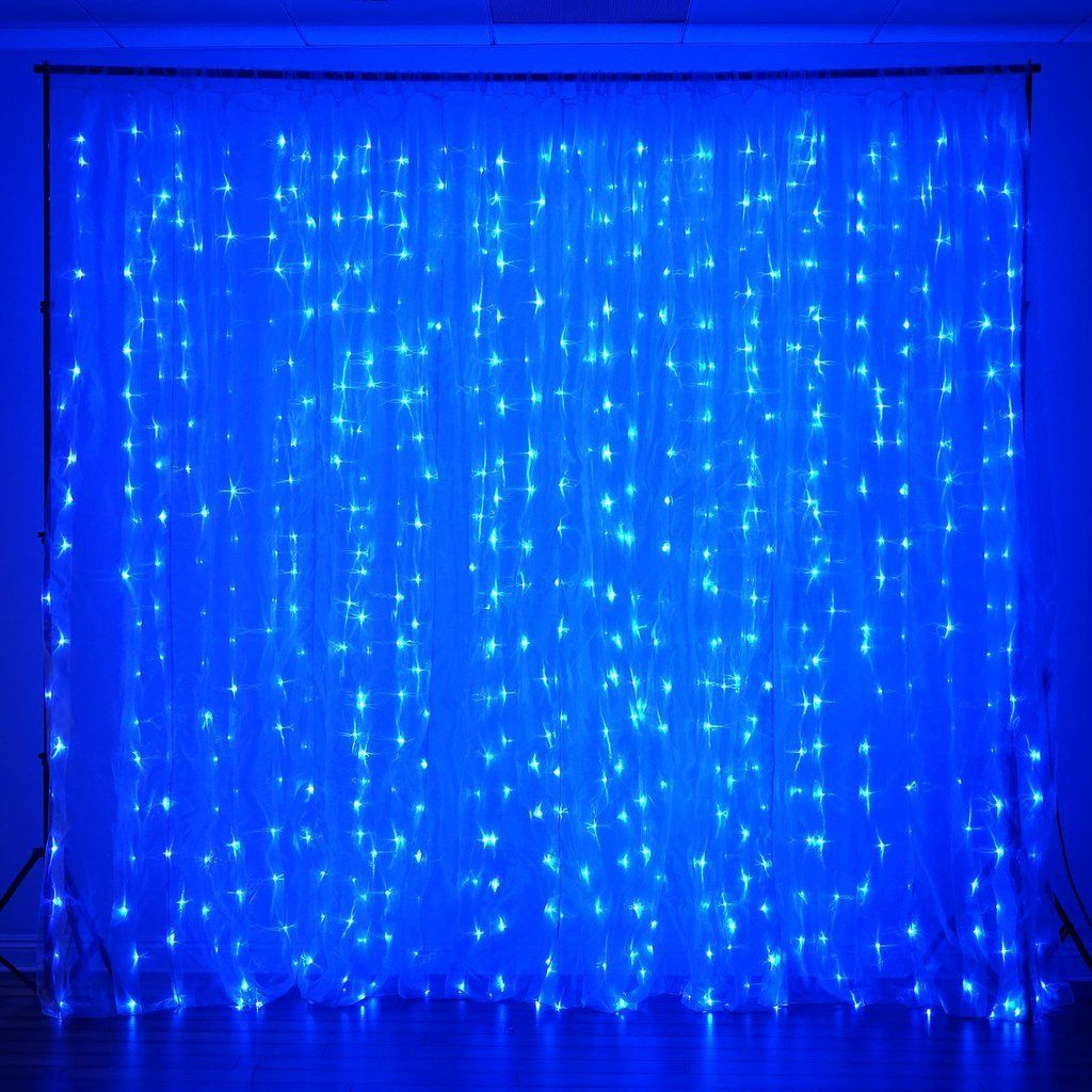 18ft X 9ft 600 Sequential Blue Led Lights Big Photography
