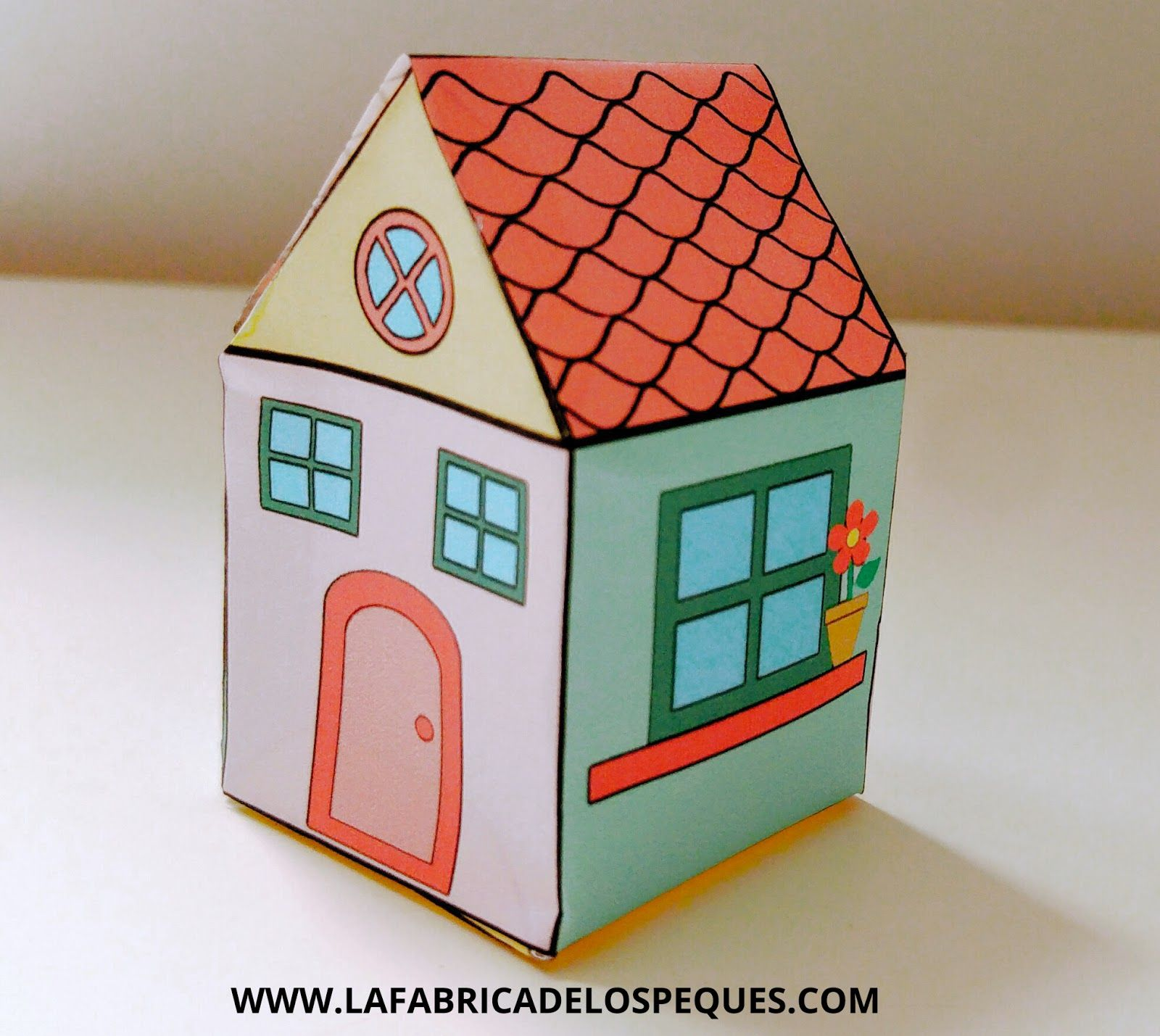 Manualidades infantiles: Casas imprimibles | Manualidades infantiles ...