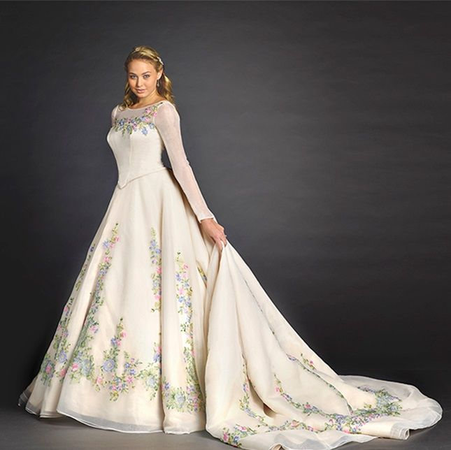Disney Themed Wedding Dresses: Limited-Edition, Movie-Inspired Dress -- Disney Princess