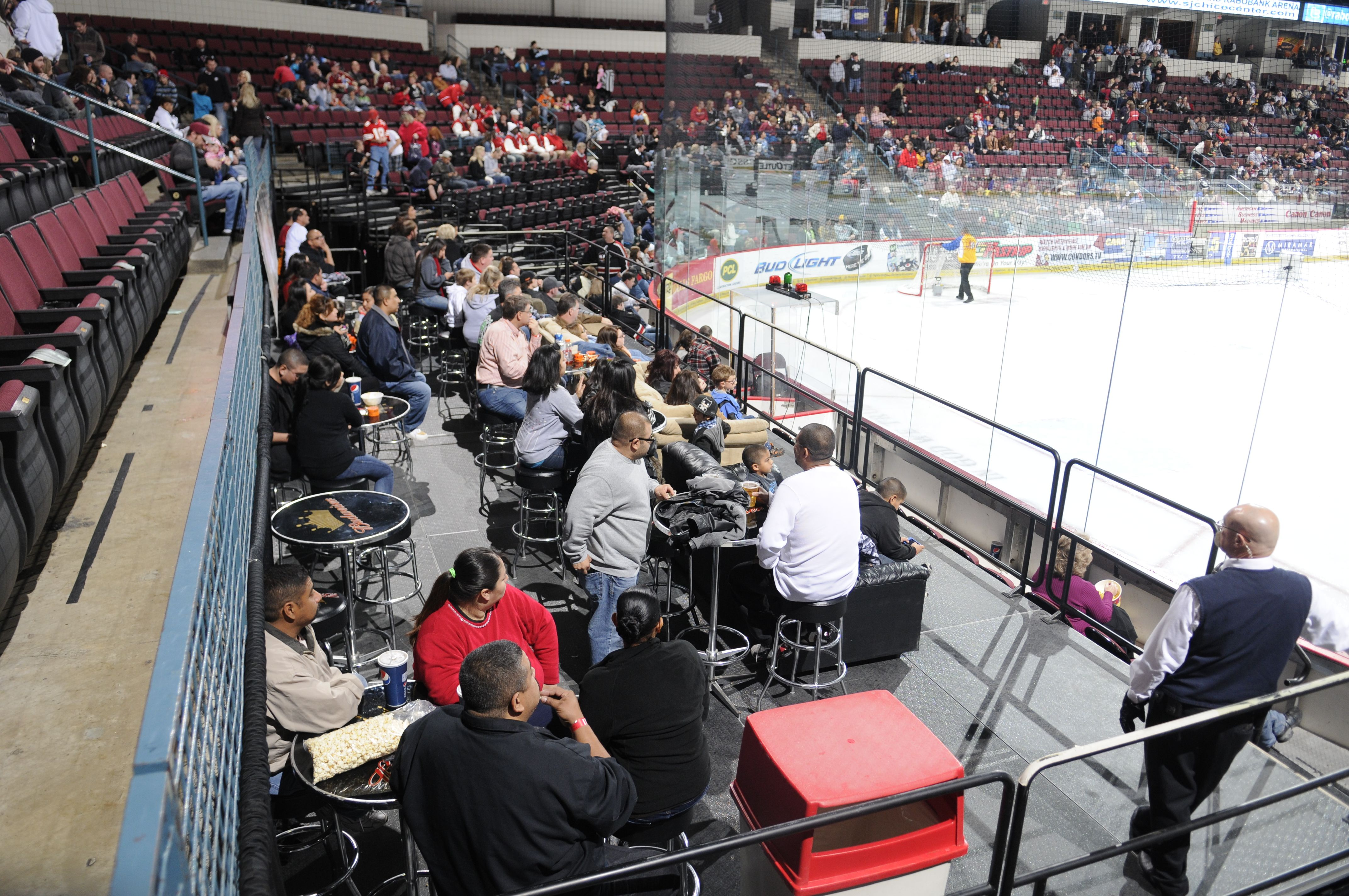 All Condors Tickets Offer A Different Prospective Of The Game But You Can T Get Any Closer To The Action Than With Th Family Entertainment Entertaining Action