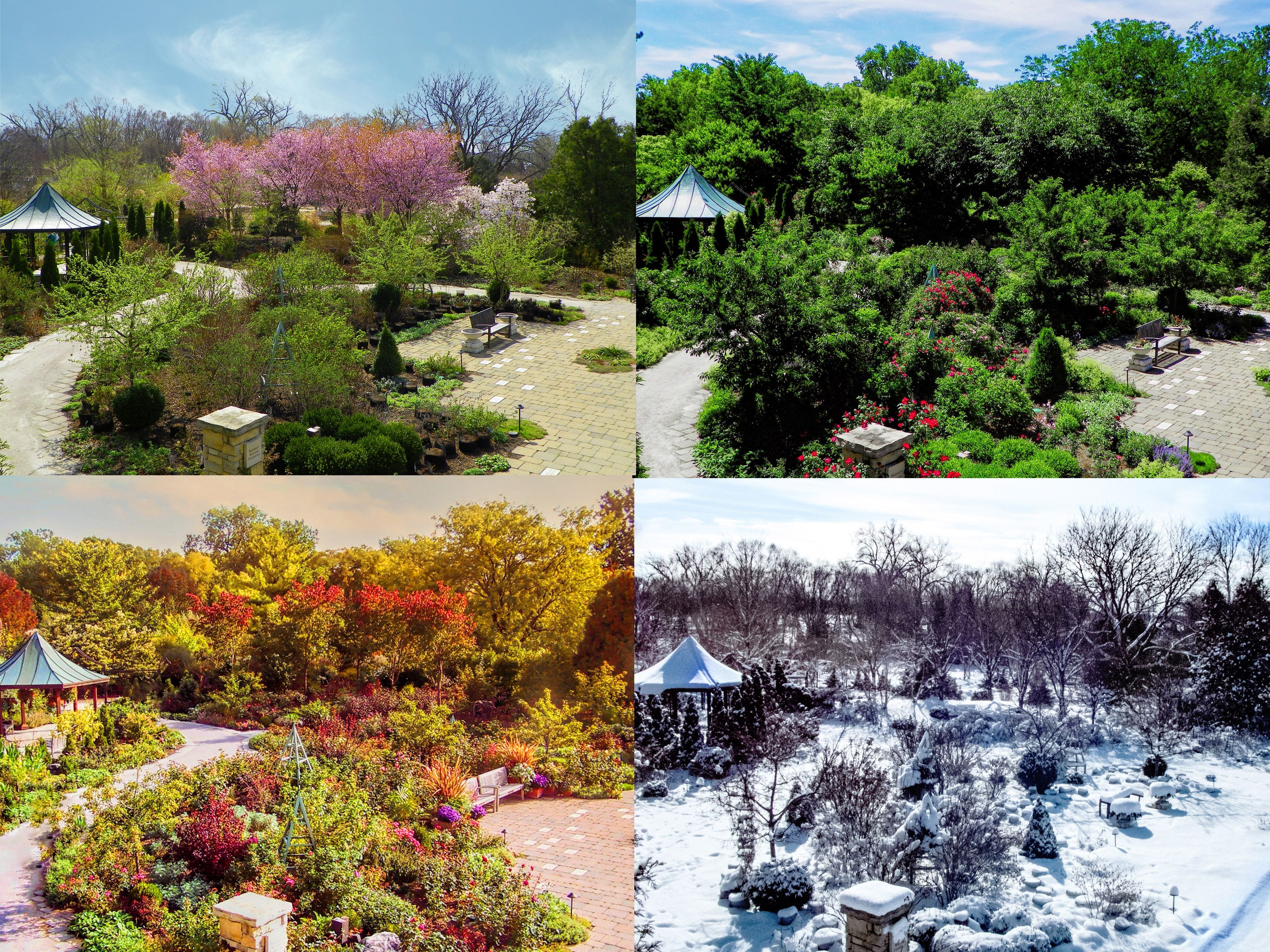 The 4 Seasons Of Olbrich Gardens Madison Wi I Love Madison Pinterest Wisconsin And