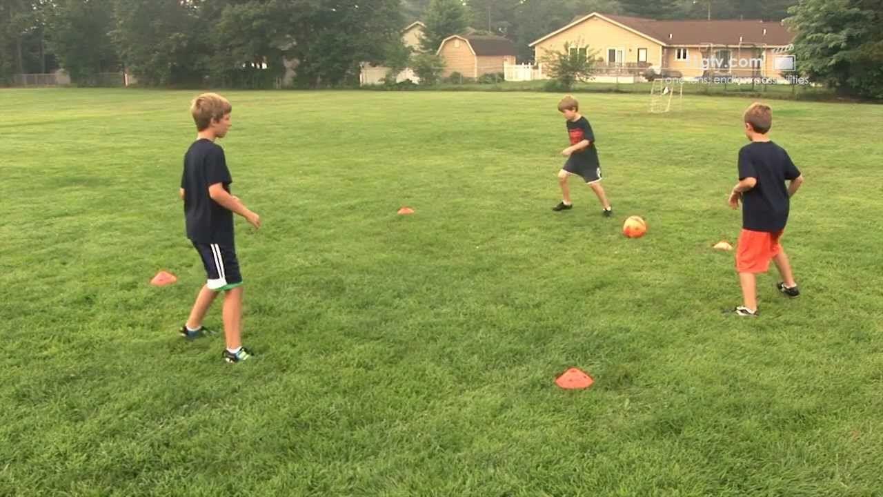 Youth Soccer Skills Pass Move Drill Fruitport Soccer Club Hd Training Ideen Kinderfussball Trainer
