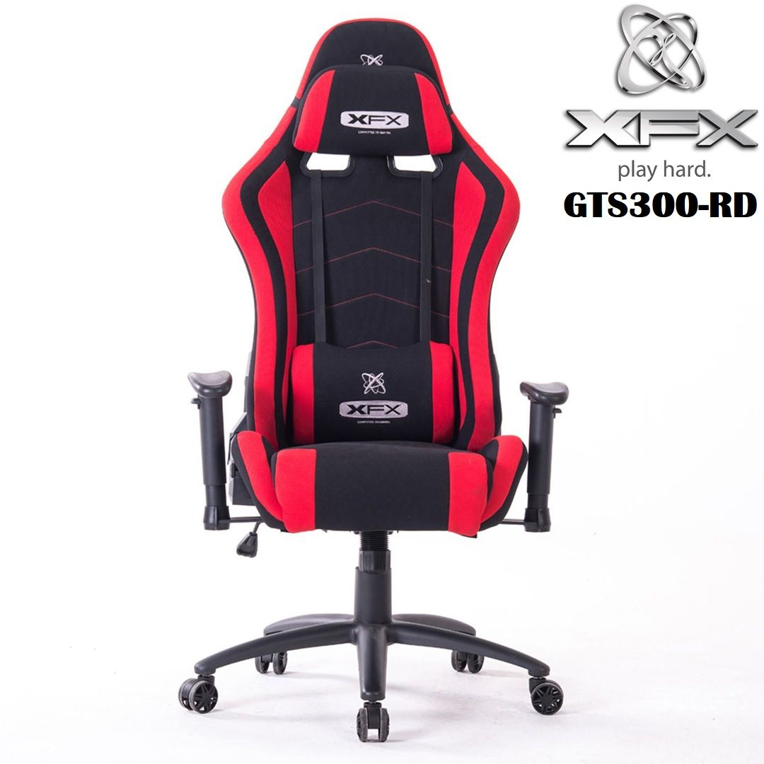 Xfx Gts300 Fabric Gaming Chair Gaming Chair Chair Headrest