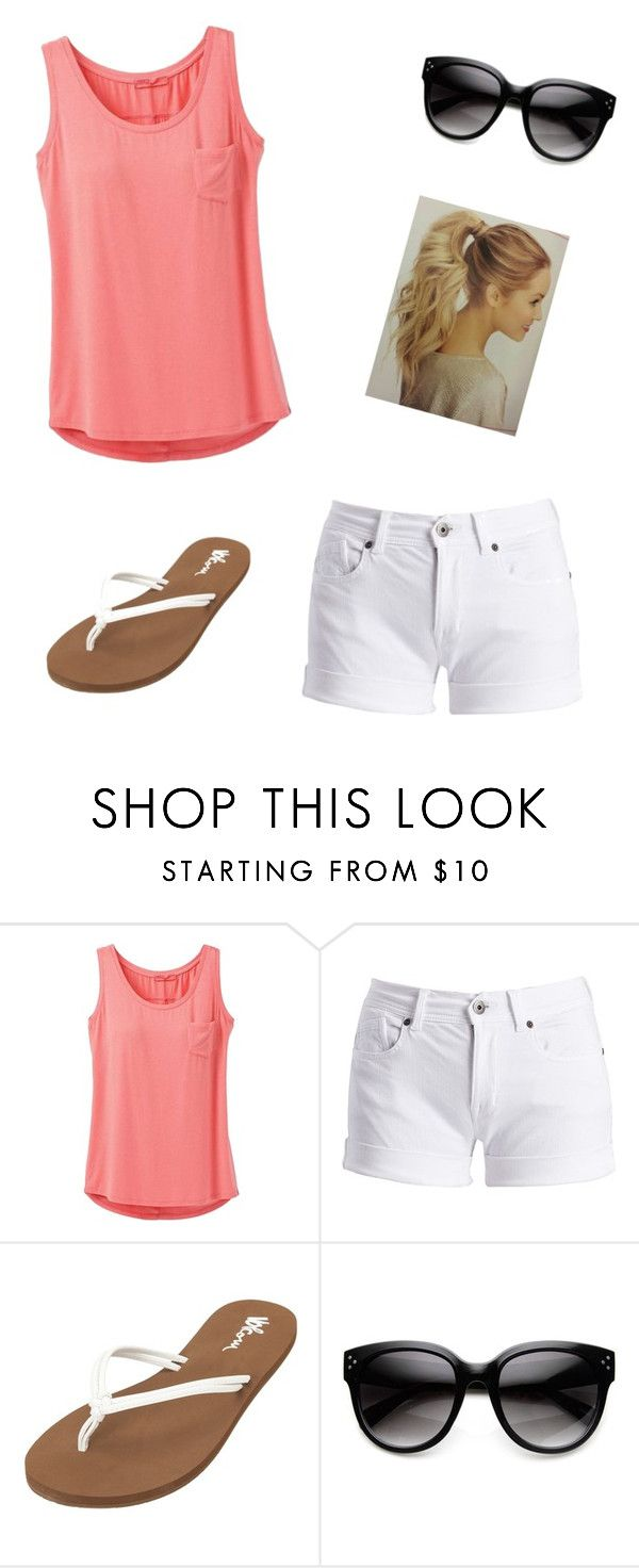 """Summer #2"" by jaycie-claire ❤ liked on Polyvore featuring prAna, Barbour International and Volcom"