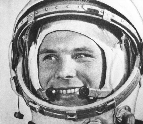 första människan i rymden