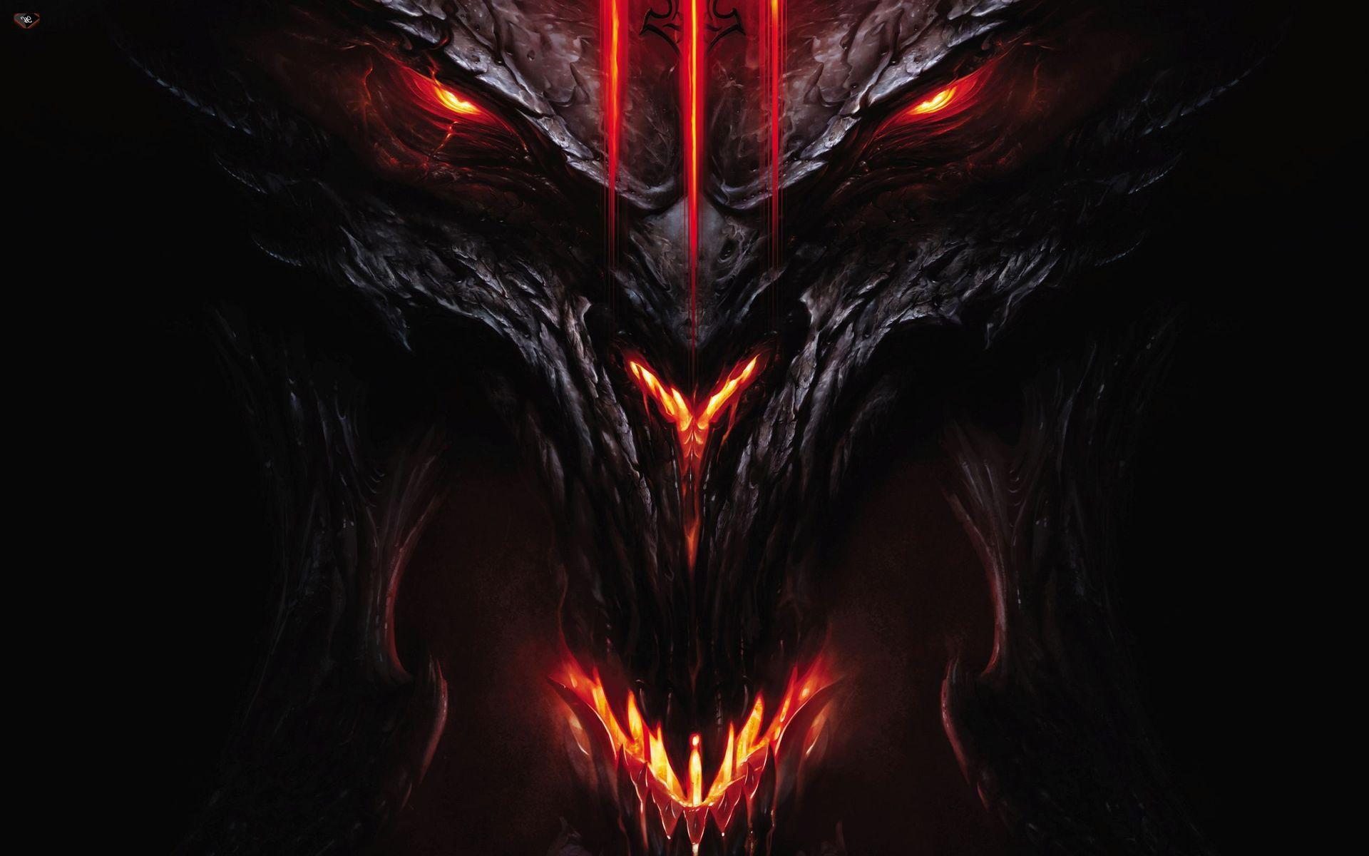 Diablo III Wallpaper 12668 Scary wallpaper, Skull