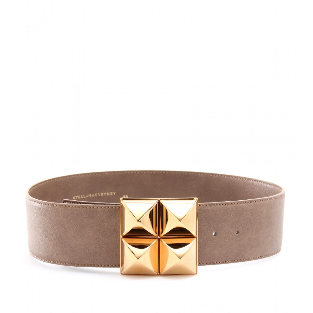 Stella McCartney : pyramid studded belt