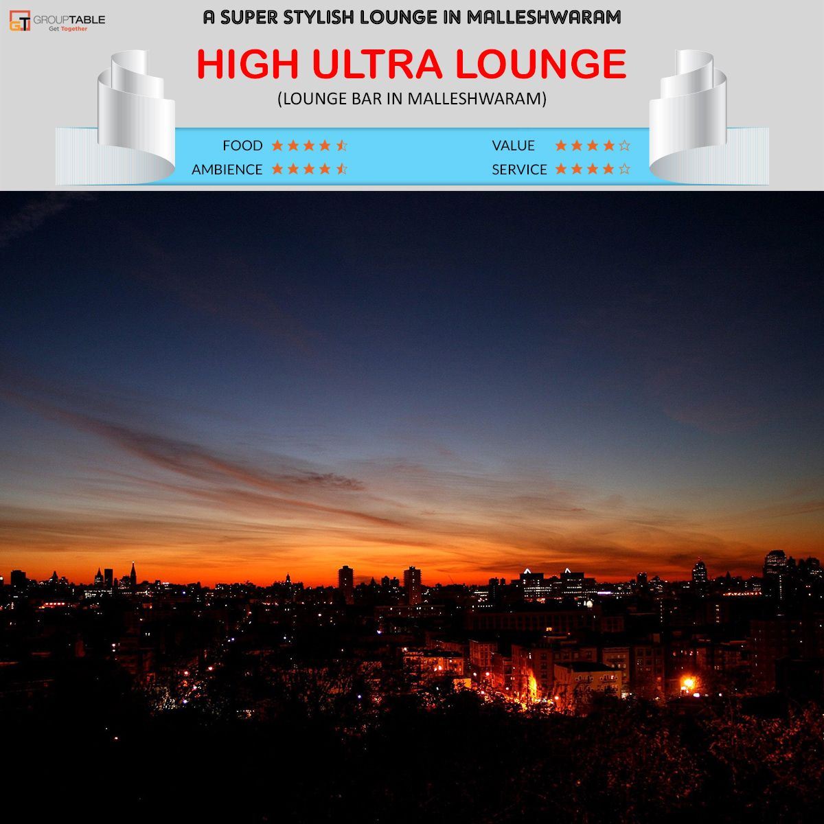 High Ultra Lounge Lounge Bar Bangalore: A Super Stylish Lounge In Malleshwaram | Book a table https://www.grouptable.com/bangalore/restaurants/high-ultra-lounge-malleshwaram