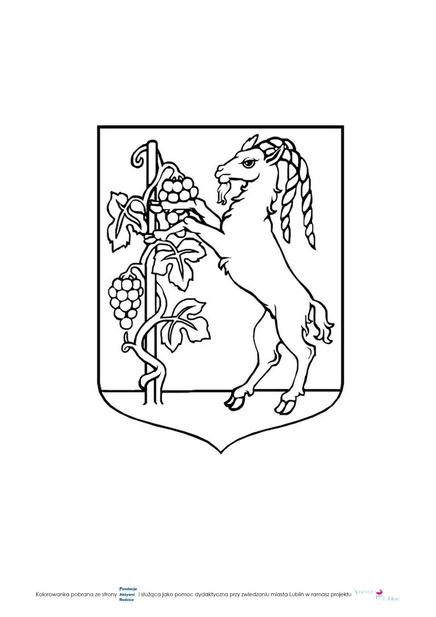 Znalezione Obrazy Dla Zapytania Herb Lublina Kolorowanka Photoshop Herbs