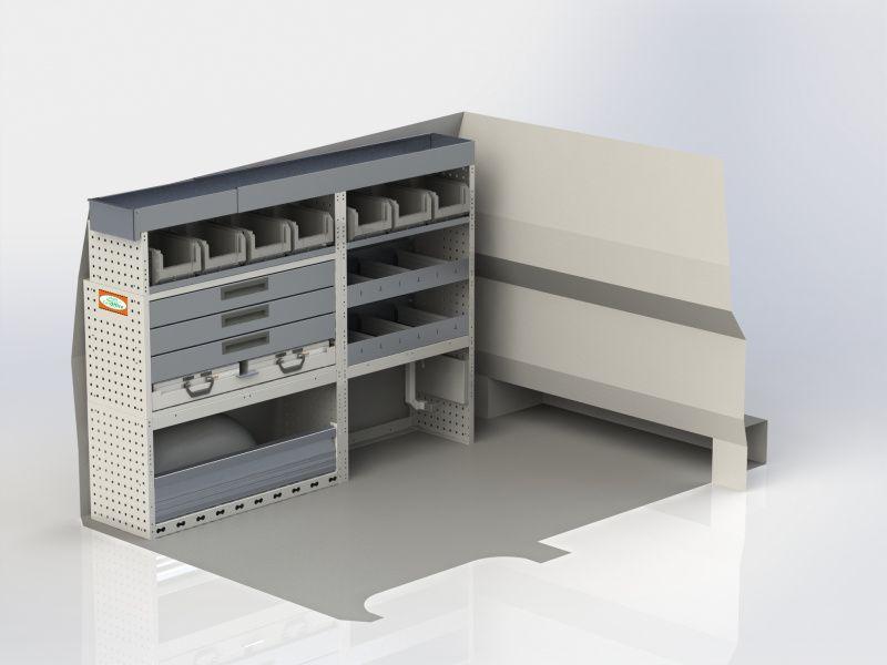 Kfk Van Equipment Systemracing Tool Storage 1775003 Bredde 1775
