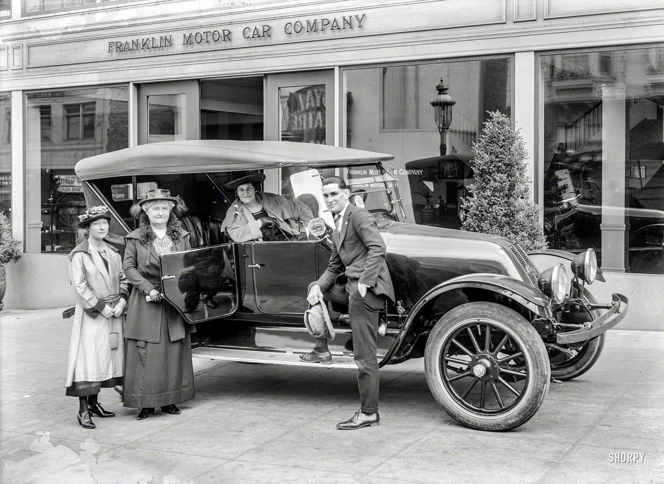 San Francisco circa 1920. \
