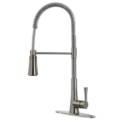 Pfister Mystique Single Handle Commercial Style Spring Pull Down
