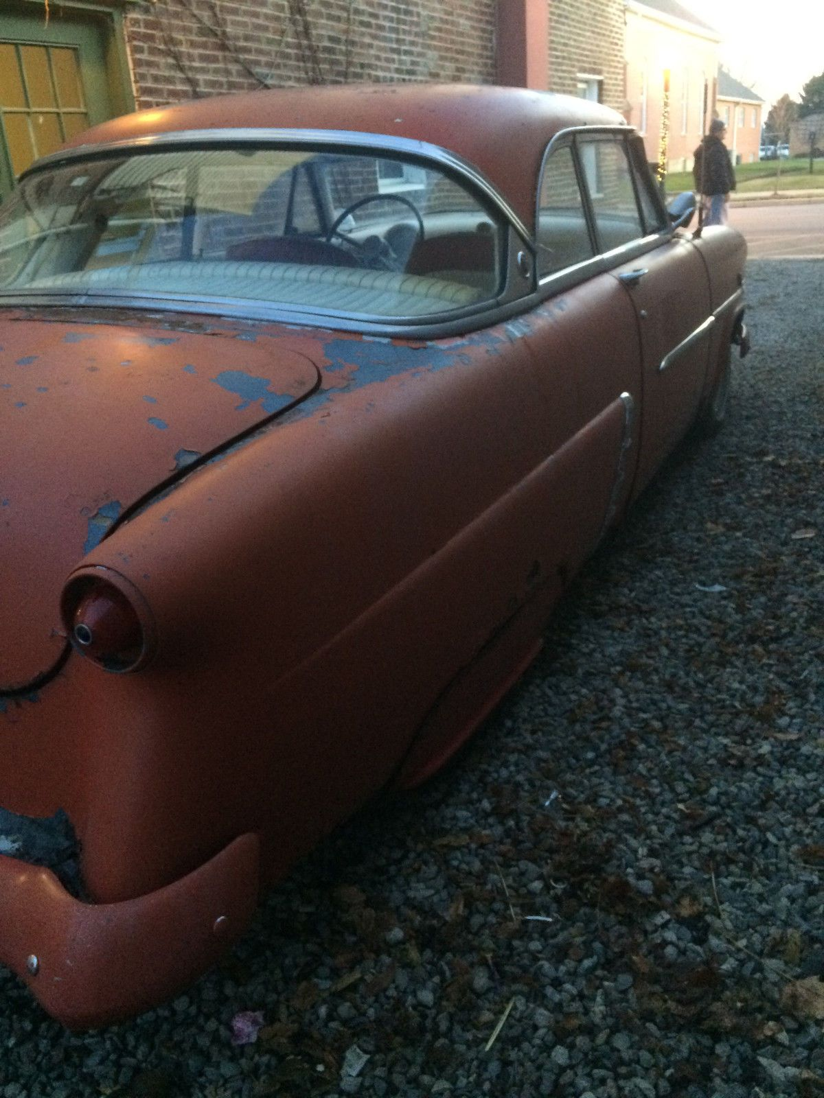 Nice Great 1953 Ford Victoria Hard Top Barn Find KUSTOM Survivor Crown Hardtop