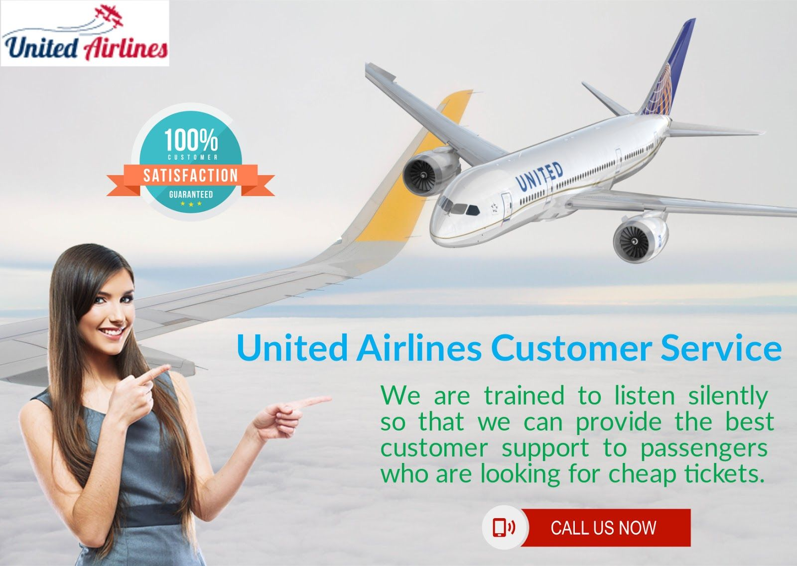 Big Discounts With Better Services At United Airlines