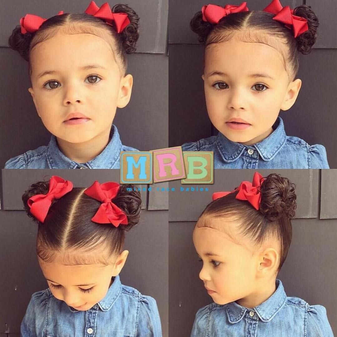 "Hairstyles For Mixed Toddlers With Curly Hair Fair Mixed Race Babies On Instagram ""Black Bajan & Jamaican"