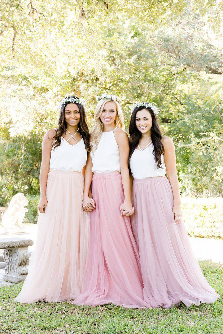Boho Loves: Bohemain Brautjungfernkleider und stilvolle Mix and Match-Produkte von Revelry   - Bridesmaid dresses -