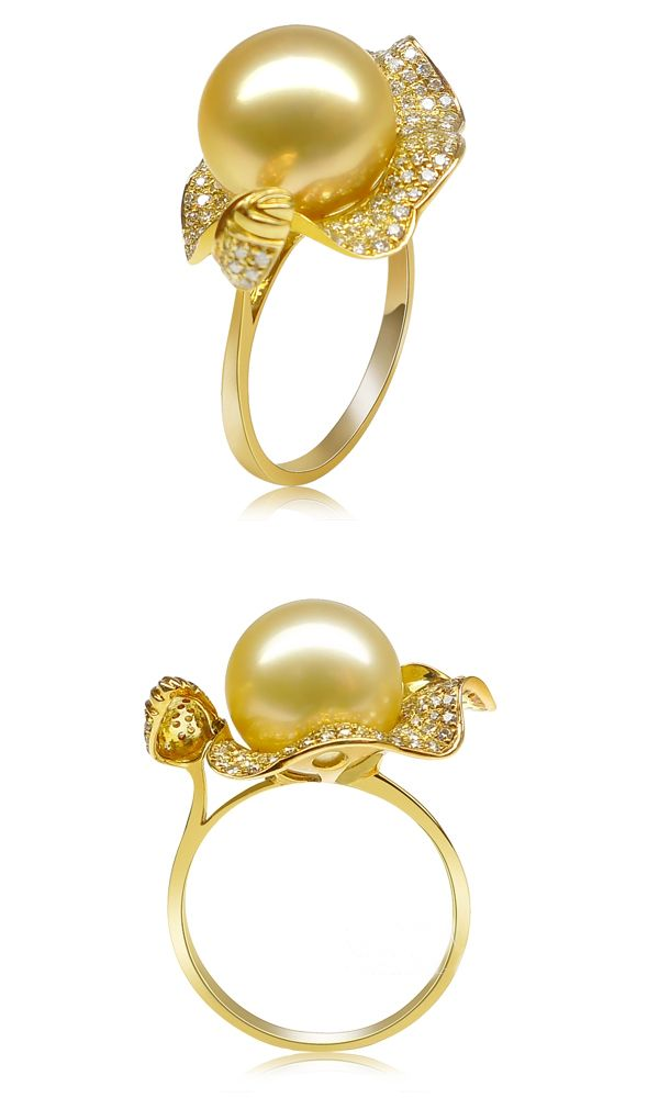 8aad888374d0 golden south sea pearl ring