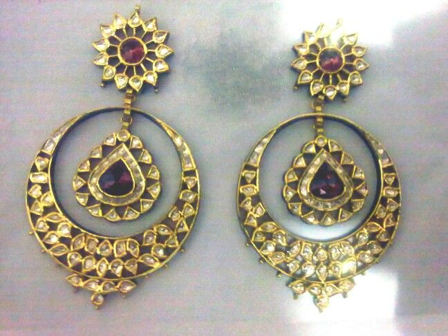 balis earrings chand bali polki earrings jewellery 7631