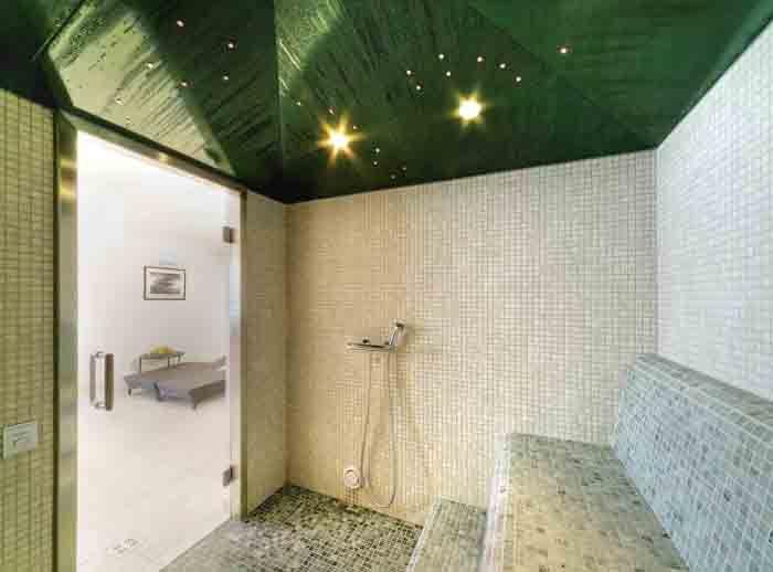 wandfliesen badgestaltung naturstein sauna ausstattung - badezimmer design badgestaltung