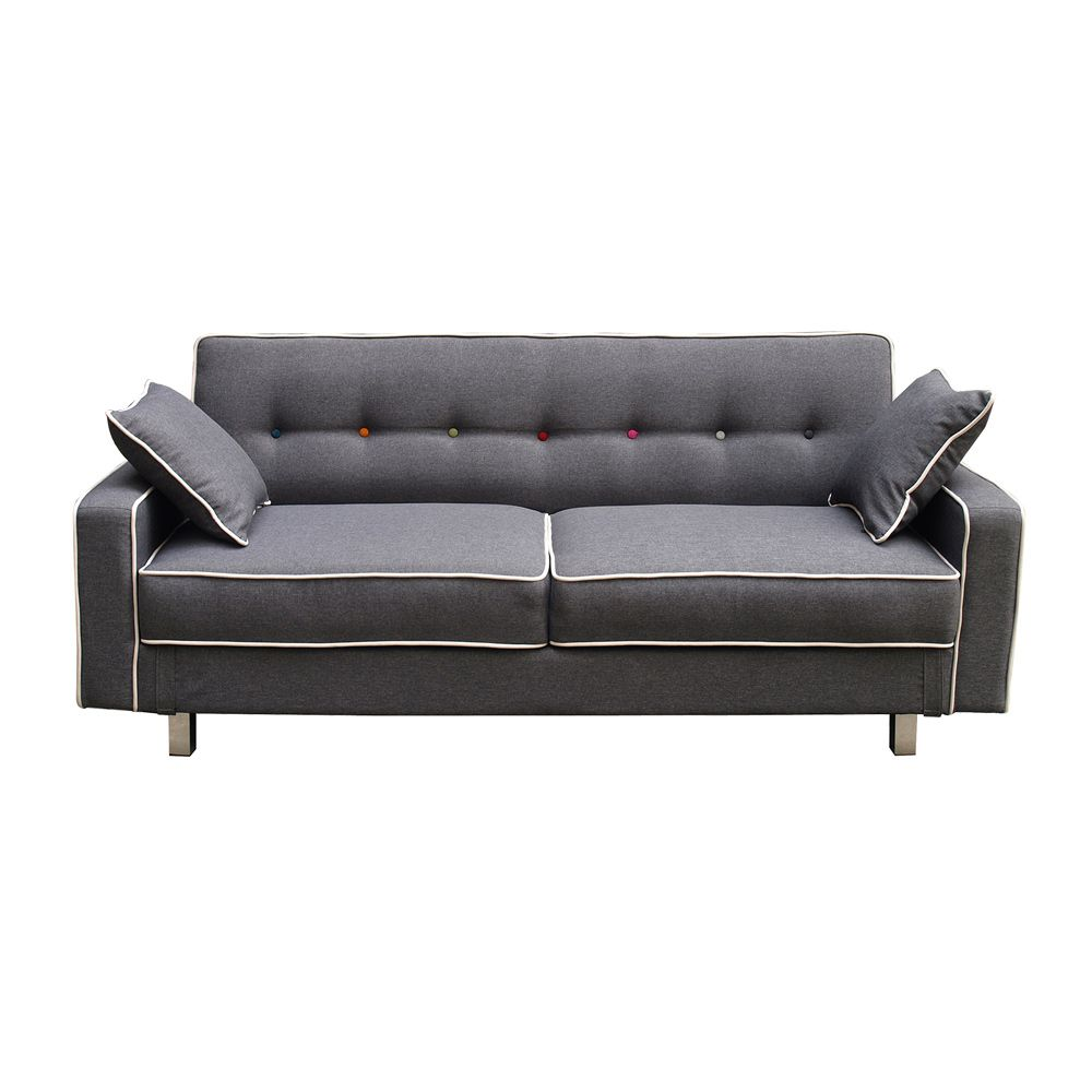 Buy Sofa Bed Online Buy Luxo Kingsley 4 Seater Sofa Bed Grey Online Australia Luxo