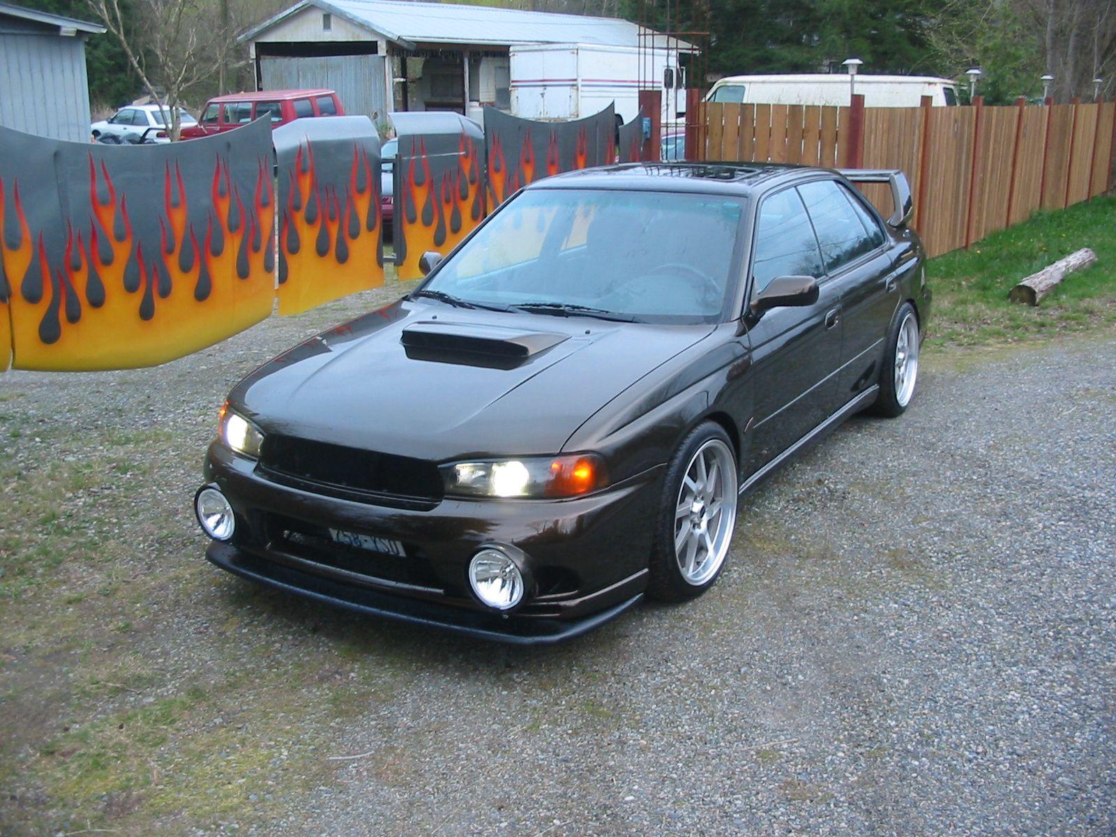 Customized 1999 Subaru Legacy GT