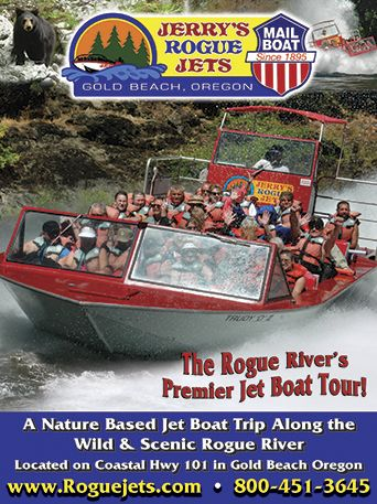 Mail Boat Rides Gold Beach Boats Jerry S Have Joined Forces On The Lower Rogue River At