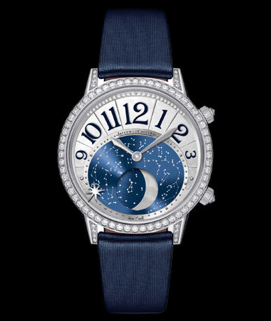 Jeager Le Coultre Rendez-Vous Moon 36mm 18K WG Auto Available at Cellini Jewelers