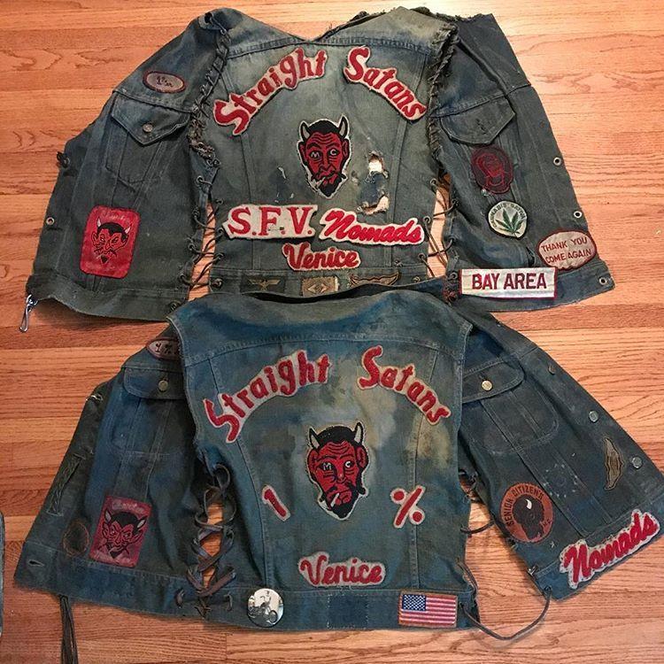 Stupid Club Ahit Retro Outfits Biker Clubs Vintage Biker