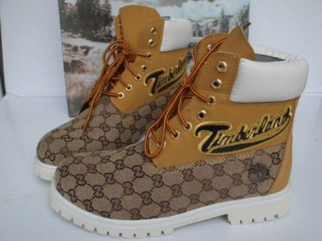 Mens Timberland Custom Boots Yellow My Style My