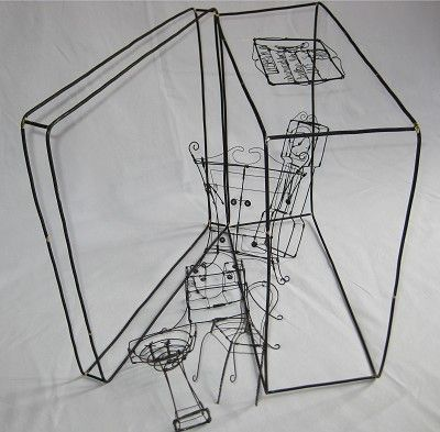 Janine Larson Attic Of Forgotten Things Wire Art Wire Sculpture Diy Metal